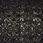black and gold brocade