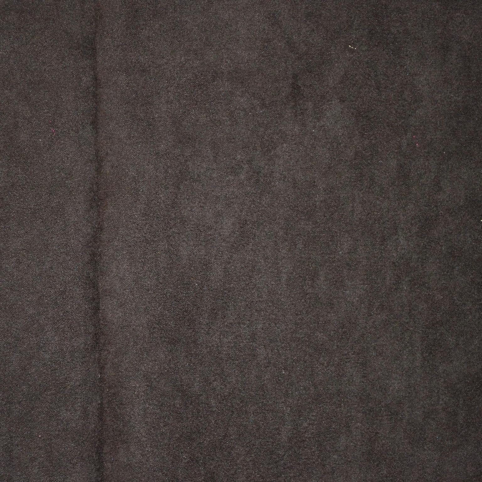 brown faux suede