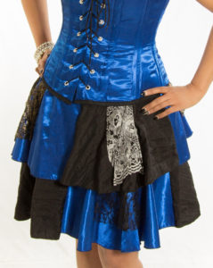 Showgirl Skirt 01 - Blue